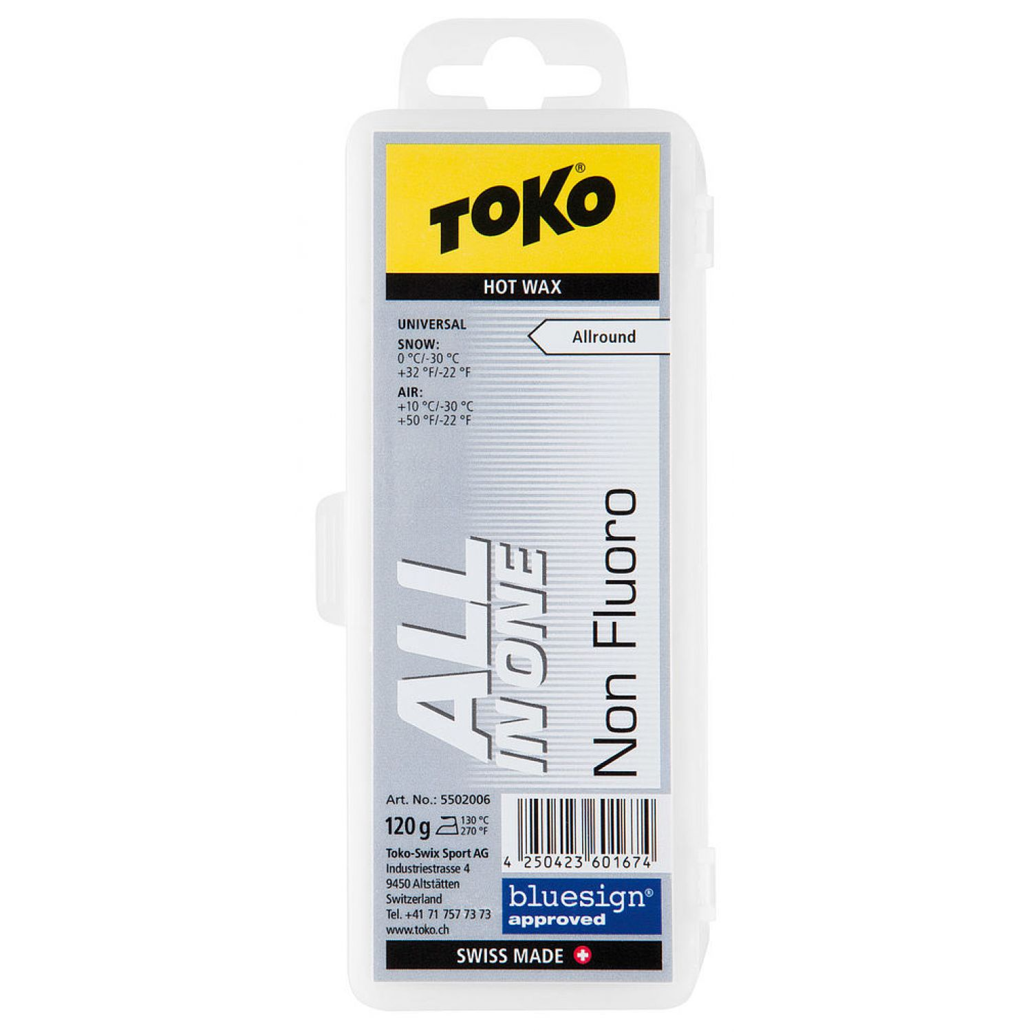Toko All-in-one Hot Wax 120g | Skiwax