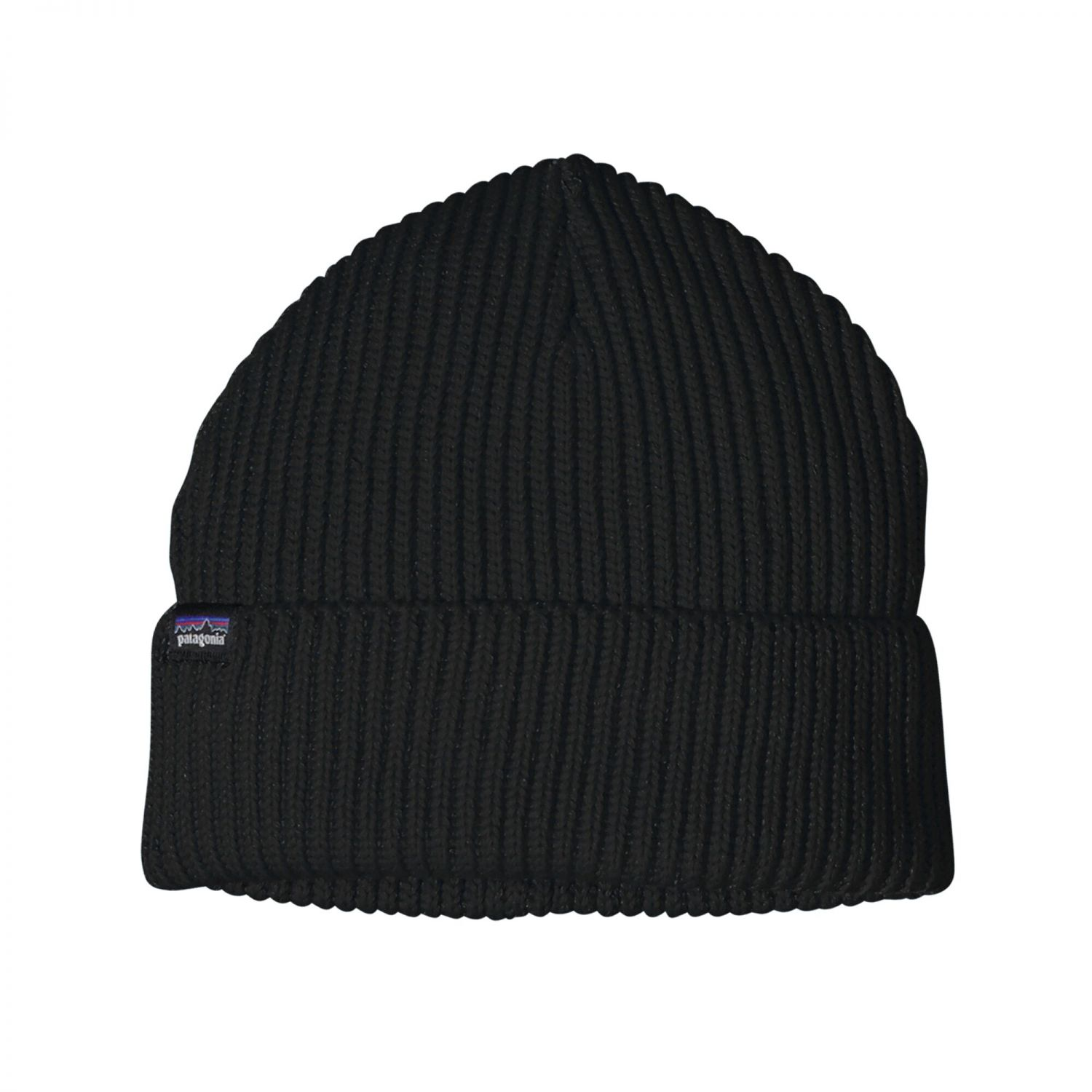 Patagonia Fishermans Rolled Beanie | Mütze Black