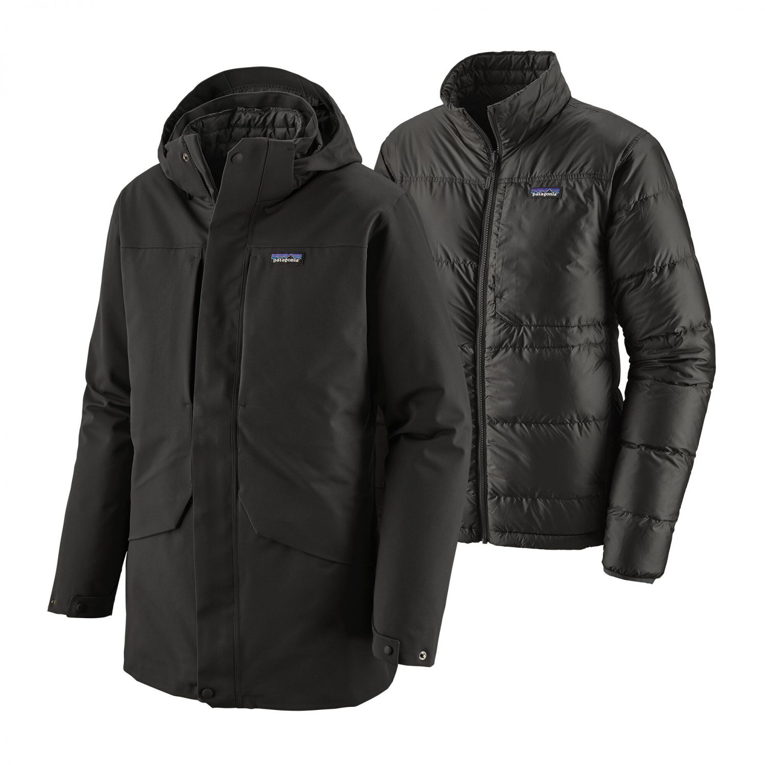 Patagonia Tres 3-in-1 Parka Men | Mantel Black S