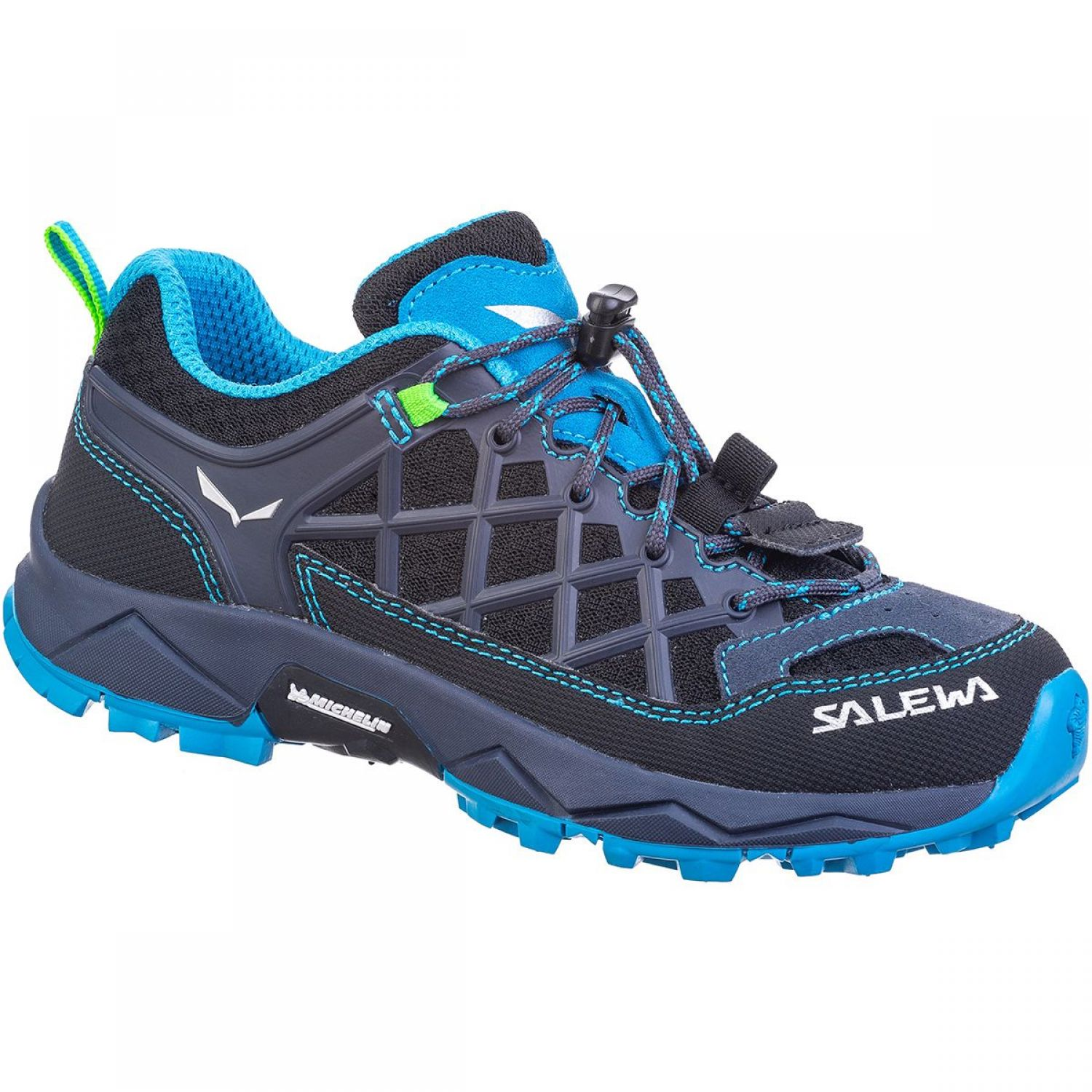 Salewa | Wildfire Jr | Kinderschuhe Ombre Blue/Fluo Green | 34.0
