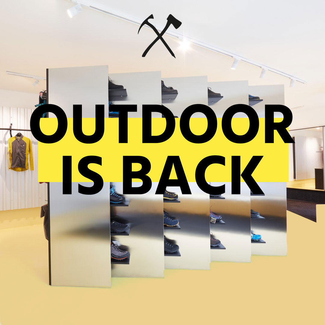 OUTDOOR IS BACK - Der neue Bergwerker Store